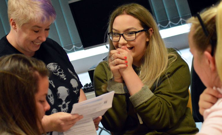 Pictures: Greenfield students celebrate strong GCSE results