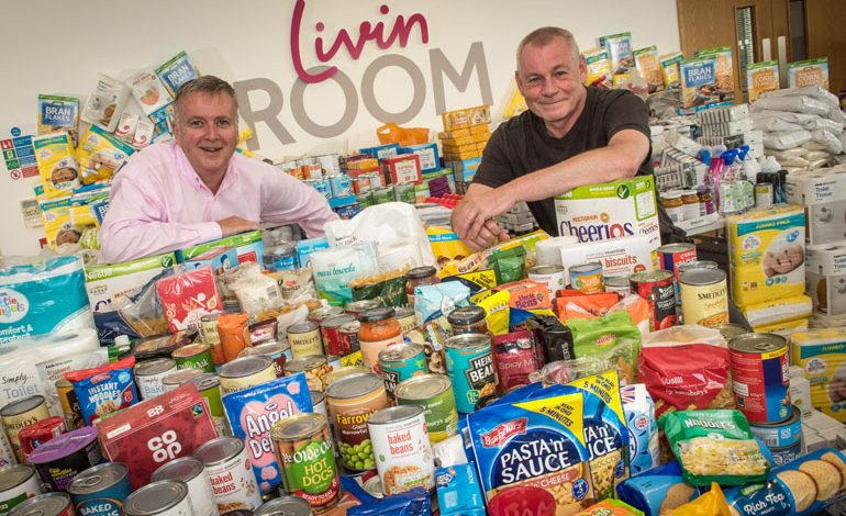 Livin triple food bank collection after local plea