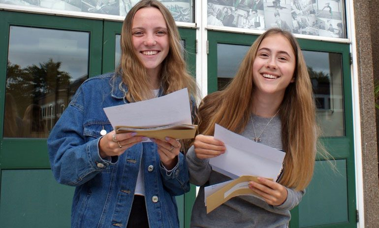 Pictures: Students celebrate another excellent set of results