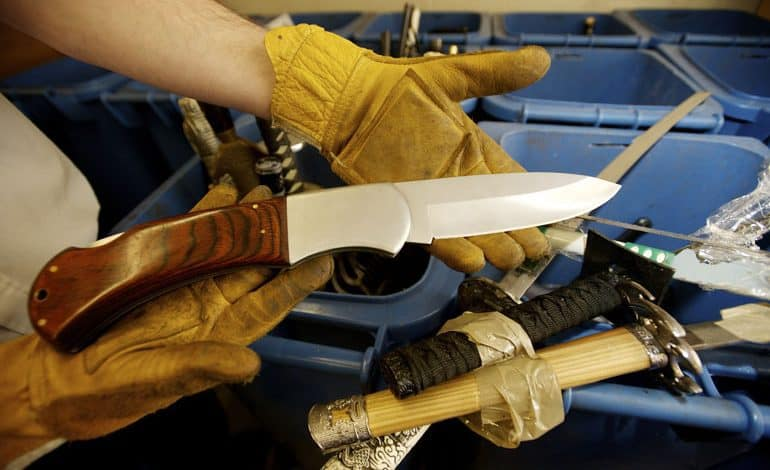 Durham to launch week-long knife amnesty