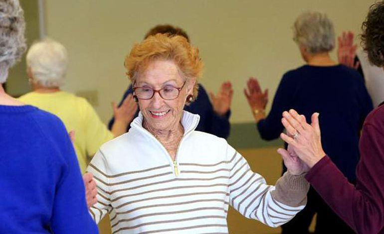 Over 65's 'Falling on Your Feet' dance classes at PCP
