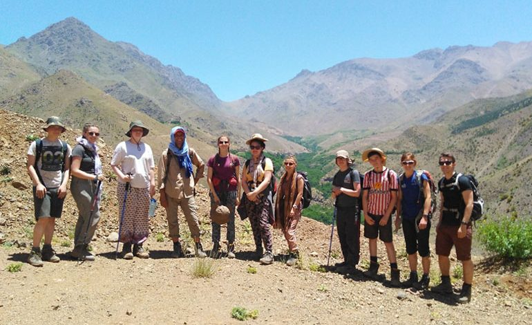 Eight Aycliffe students visit North Africa during 'World Challenge Expedition'