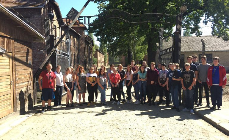 2+ hours of 'stunned silence' as students visit Nazi concentration camp