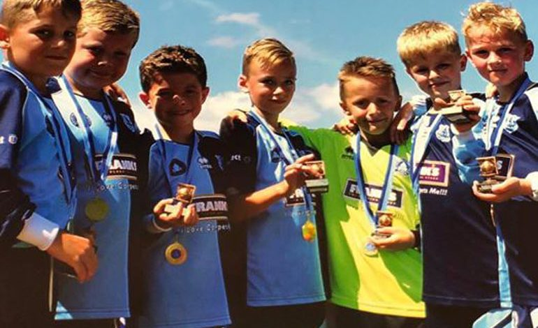 Help this Under-8s footy team reach Skegness tournament