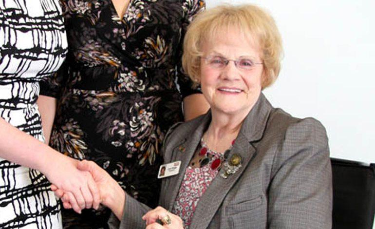 Volunteer Carol is finalist in 'outstanding' charity contribution