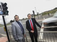 Completed new junction paves way for 52-hectare Forrest Park development