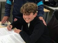 Aycliffe Juniors star Charlie signs two-year deal with Boro