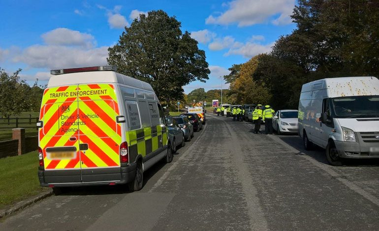 50 vehicles stopped as volunteers help crackdown on road safety