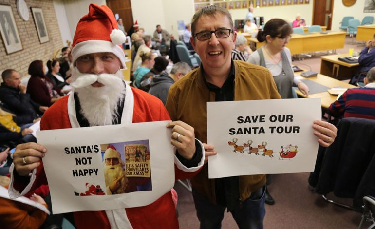'People Power' victory as council officially backs down over Santa Tours