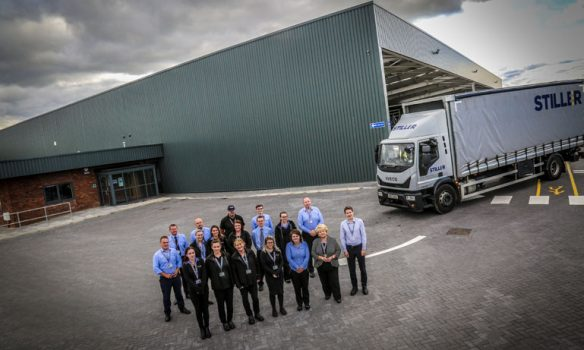 Stiller paves way for jobs growth as £2m distribution centre opens