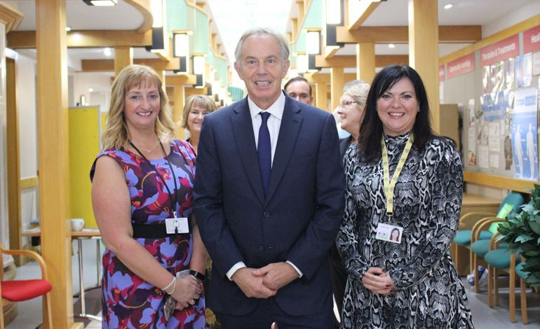 Tony Blair drops in at the PCP he opened 20 years ago