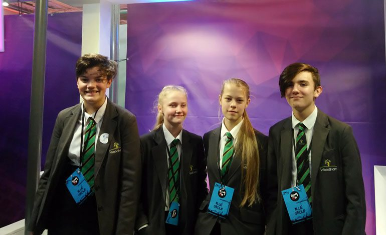 Aycliffe students enjoy interactive engineering event at Stadium of Light
