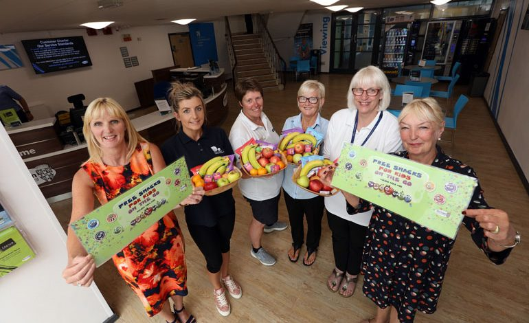 Free half-term snacks for children at County Durham leisure centres