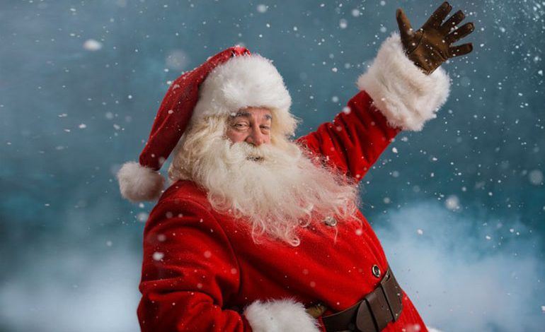Santa's traditional Christmas Eve tour timetable