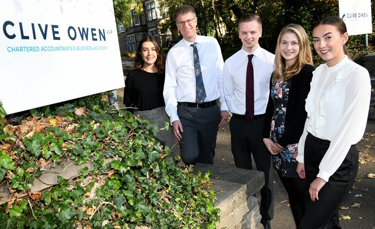 Newtonian Oliver gets trainee job with accountancy firm