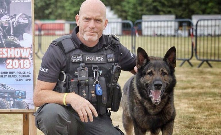 Much-loved police dog retires