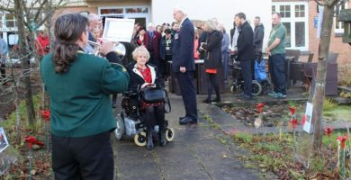 PCP honour the fallen during Armistice event