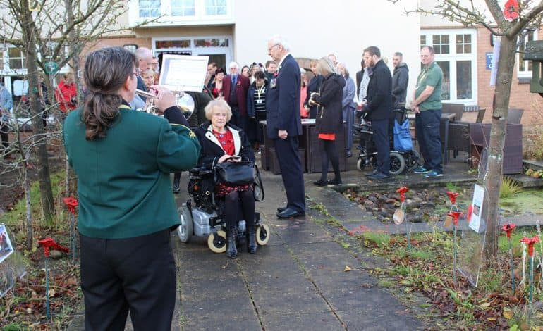 PCP honour the fallen during Armistice event
