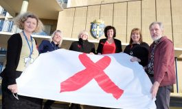 Durham shines a light on World Aids Day