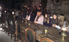 Ghostly tour for Greenfield Students
