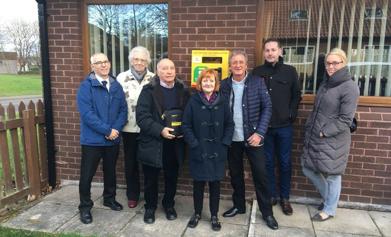 Grant secures more new defibrillators in Aycliffe