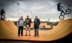 Mayor officially opens new £49,000 skate park