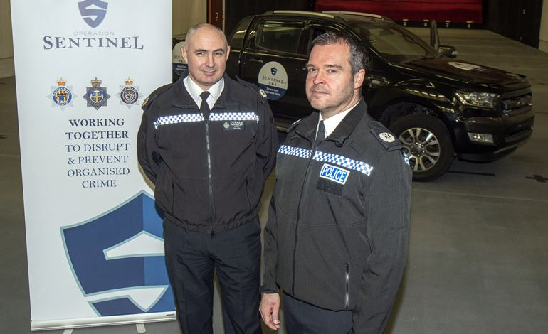 Police launch Operation Sentinel to combat serious and organised crime