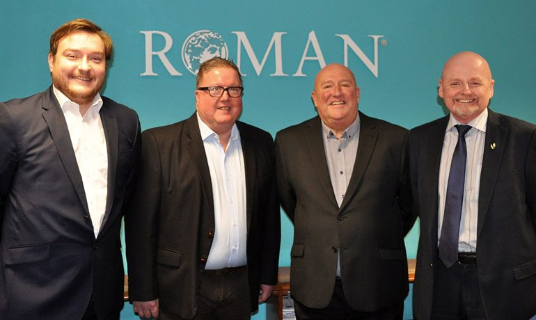 Senior manager retires from Aycliffe firm Roman