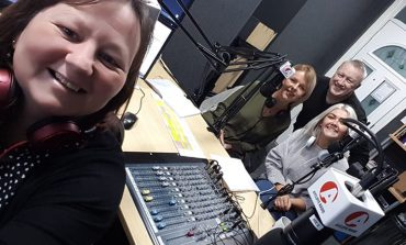 Hospice volunteers feature on Aycliffe Radio