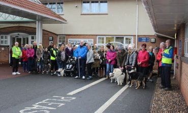 Volunteers make a splash with sponsored walk
