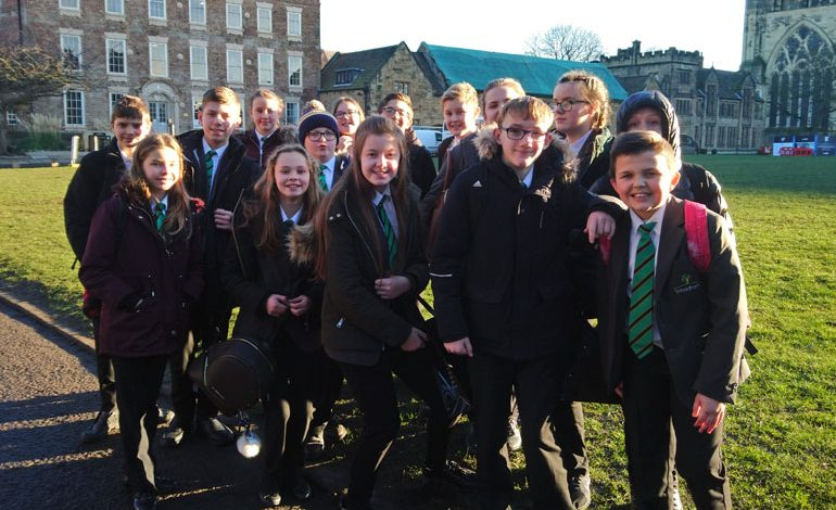 Woodham's More Able students visit Durham University