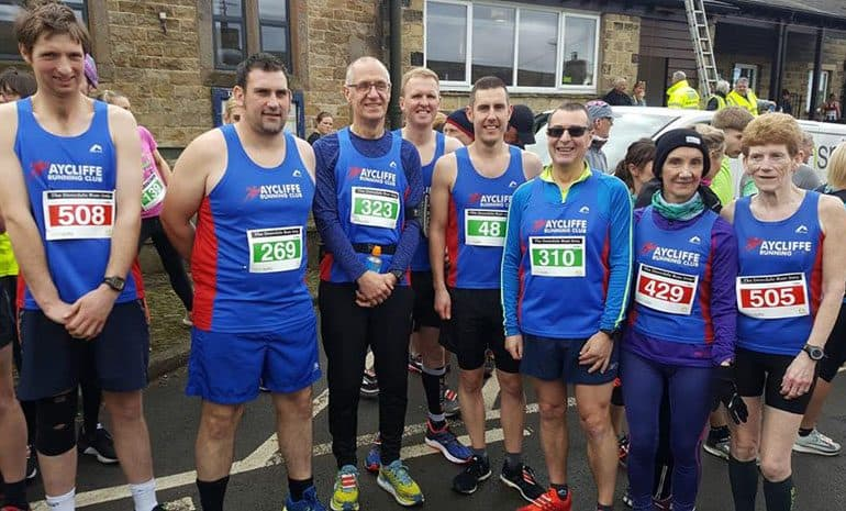 Medal success for Aycliffe runners