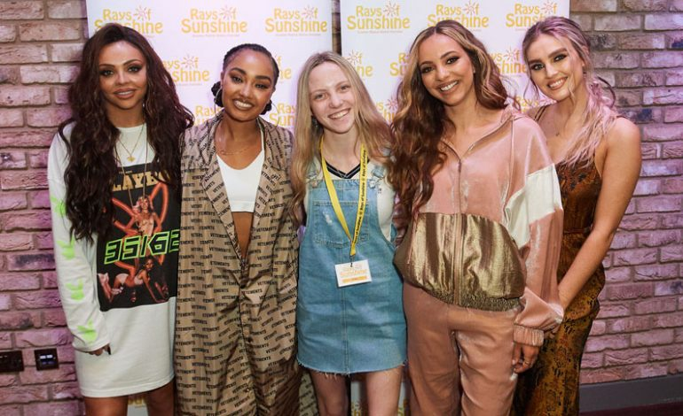 Brave Millie meets megastars Little Mix