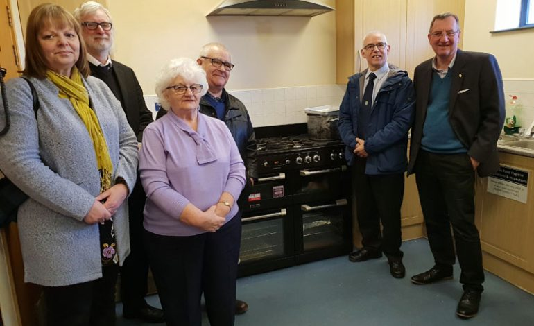 GAMP donation funds new cooker at Youth Centre