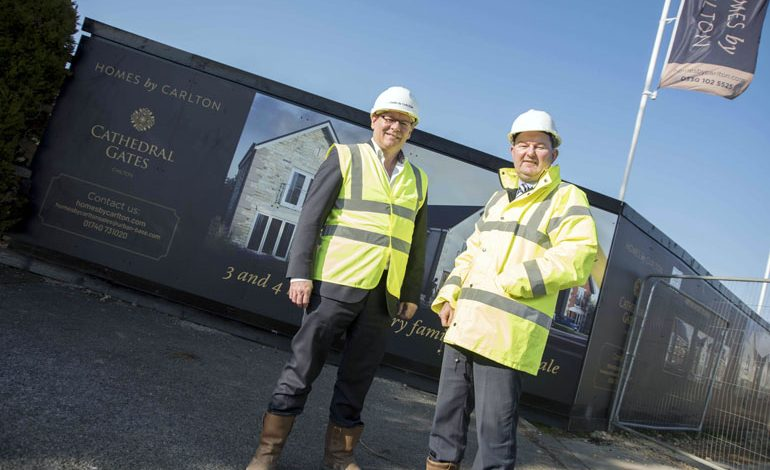 Aycliffe firm builds luxury homes development with £1m funding