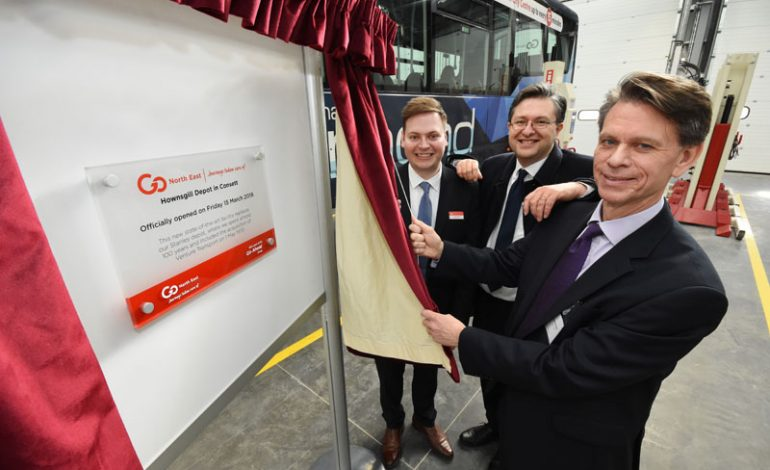 Go North East unveils new £3.5m base