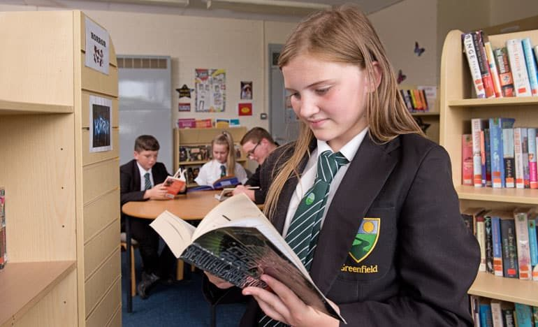 Students enjoy World Book Day at Greenfield