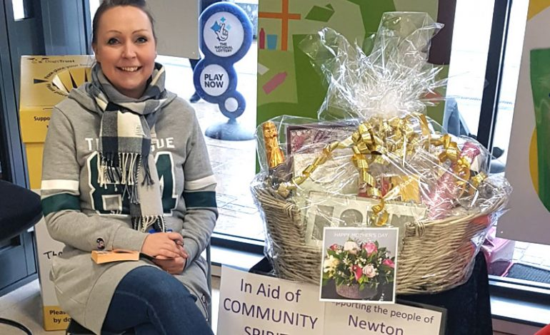 Community Spirit raise £355 with Mother's Day hamper