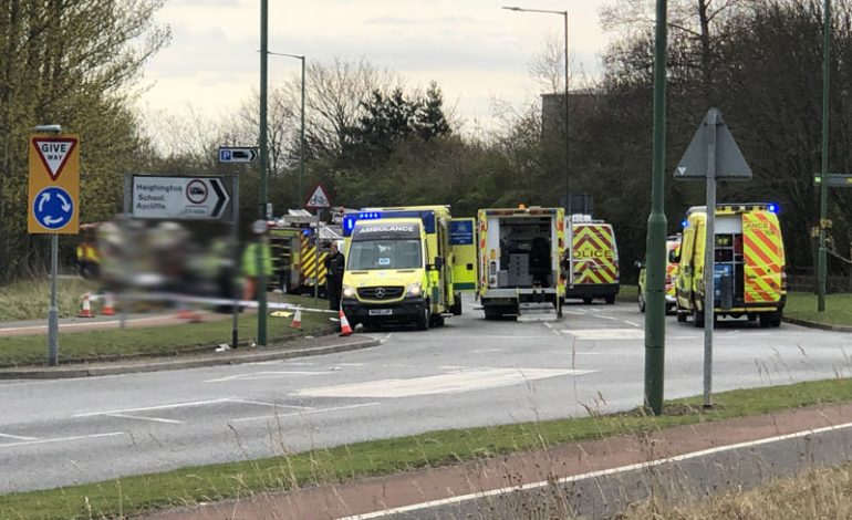 Motorists injured in Aycliffe accident