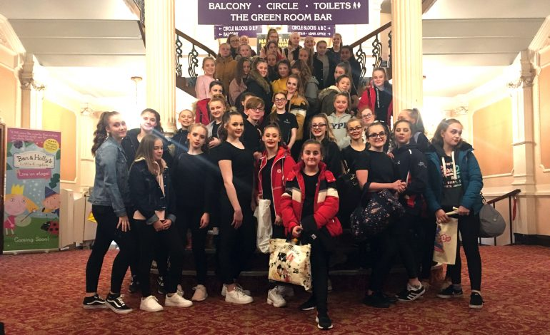 School dancers star in half-term performance