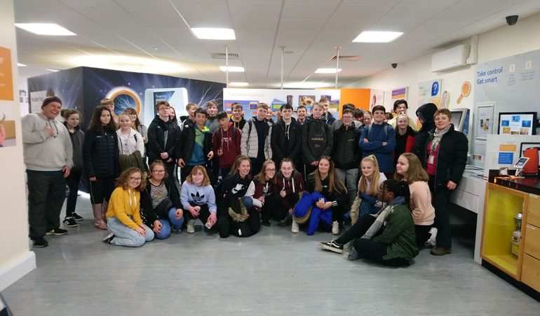 Student power as Woodham pupils visit Hartlepool station