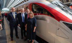 Aycliffe-built Azuma train enters service