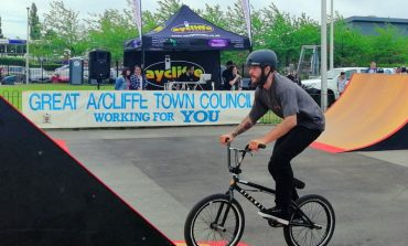 Fun is ramped up with town's first SK8 event