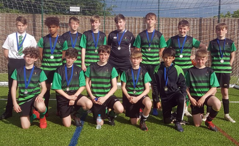 Football is flourishing at Woodham Academy