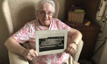 Aycliffe Angel Dora recalls making munitions during WW2