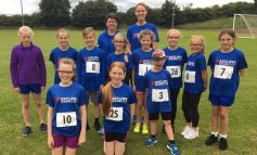 Young Aycliffe runners in summer festival