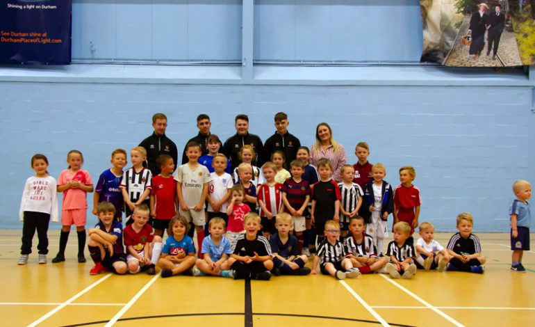 Crafter's Companion promotes grassroots football with Spennymoor FC sponsorship