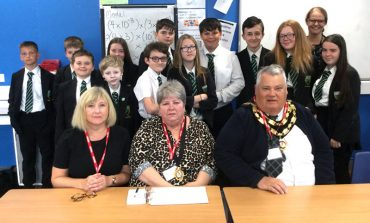 Greenfield students inspire council visit