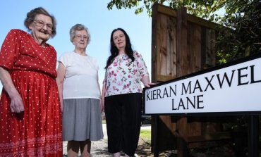 Kieran Maxwell legacy lives on with new street name