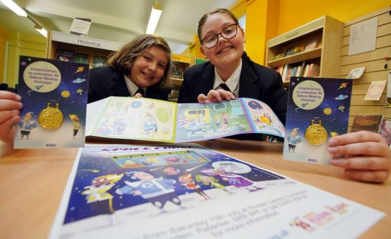 Rocket into a reading adventure this summer